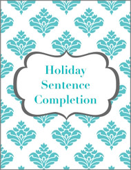 Holiday Sentence Completion