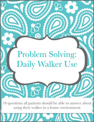 Daily Walker Use: Interactive Sequencing/ Problem Solving