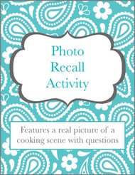 Photo Recall: Cooking Scene