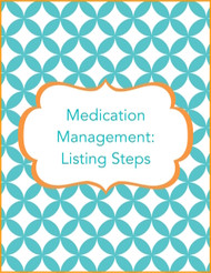 Medicine Management Listing Steps