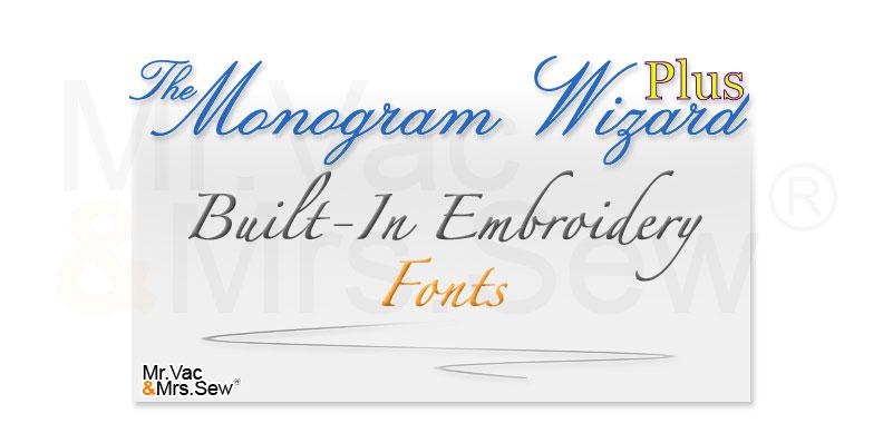 machine embroidery monogram software