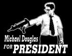 Michael Douglas For President T-Shirt