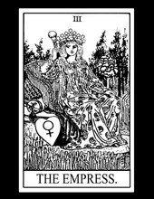 Empress Tarot Card T-Shirt