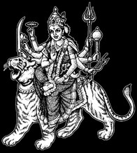 Durga T-Shirt