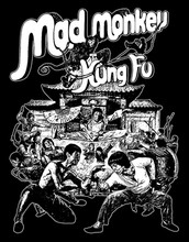 Mad Monkey Kung Fu T-Shirt