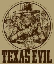 Texas Evil Logo T-Shirt