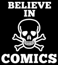 Believe In COMICS Logo T-Shirt