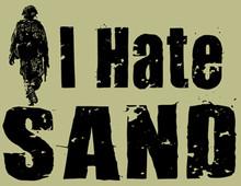 I Hate Sand T-Shirt