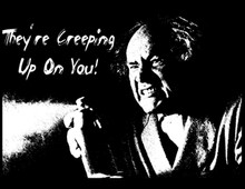 Creeping Up On You T-Shirt