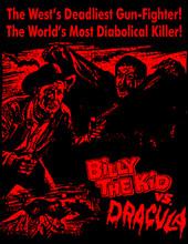 Billy the Kid vs Dracula T-Shirt