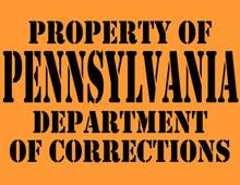Pennsylvania Department of Corrections T-Shirt