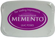 Lilac Posies Memento Ink Pad