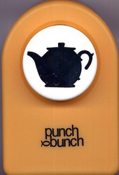 Tea Pot Large Punch
