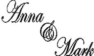 Small Wedding Regular Rubber Stamp