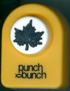 Maple Leaf Small Punch