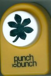 Palmate Leaf Medium Punch