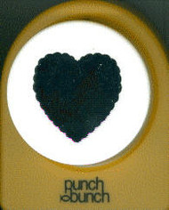 39mm Scallop Heart Punch