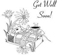 Get Well Mouse - 87M03