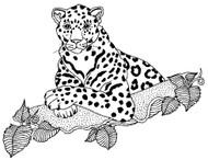 Jaguar Rubber Stamp - 81A03