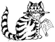 Hi Kitty Rubber Stamp - 70A04