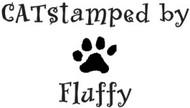 Catstamped Custom Rubber Stamp