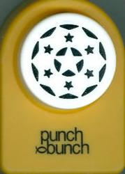 Elegant Star Round Frame Punch
