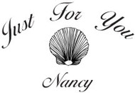 Just For You Custom Rubber Stamp