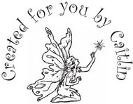 Fairy Custom Rubber Stamp
