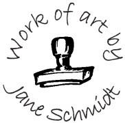 Work Of Art Custom Rubber Stamp