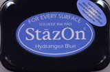 Hydrangea Blue StazOn Ink Pad