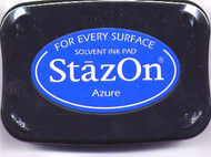 Azure StazOn Ink Pad