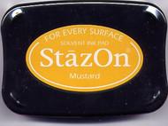 Mustard StazOn Ink Pad