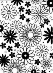 Flower Frenzy Embossing Folder