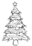 Christmas Tree Embossing Folder