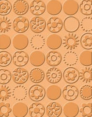 Bloom Dots Embossing Folder