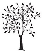 Tree with Leaves Embossing Folder