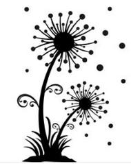 Dandelions Embossing Folder