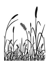 Grass Embossing Folder