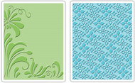 Flowers & Flourish Embossing Folder Set