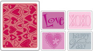 Valentine #3 Embossing Folder Set