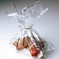 """6"""" x 13 1/2"""" Clear Side Gusset Bag - G613"""