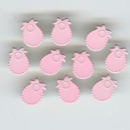 Baby Bib Pink Brads