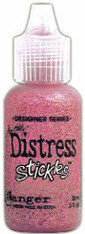 Worn Lipstick Distress Stickles