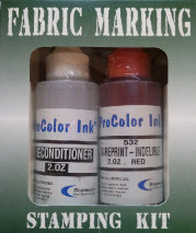 Fabric Marking Kit Red