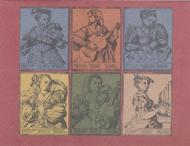 Vintage Musical Ladies Note Cards