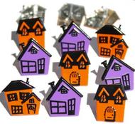 Halloween House Brads