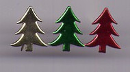 Metallic Assorted Tree Brads