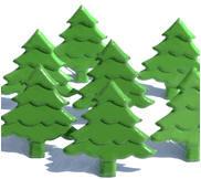 Pine Tree Brads