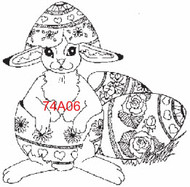 Bunny in Egg - 74A06