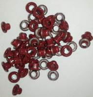Crimson Round Eyelets Package of 100